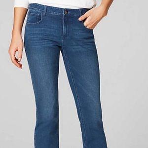J. Jill Authentic Fit Ankle Length Boot Cut Jeans